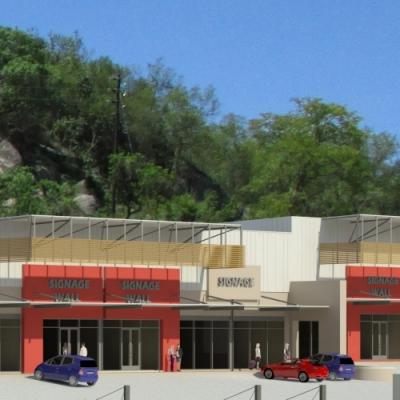 Collfin - Emkhatsini Plaza Front View